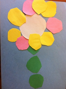 Preschool Flower Art