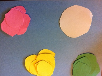 Preschool Circle Shape Art
