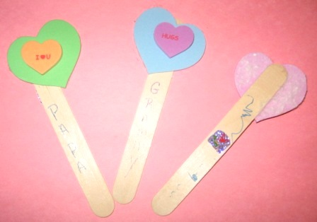 Valentines Day Activities. What You Need: 1. Popsicle Sticks: One for each